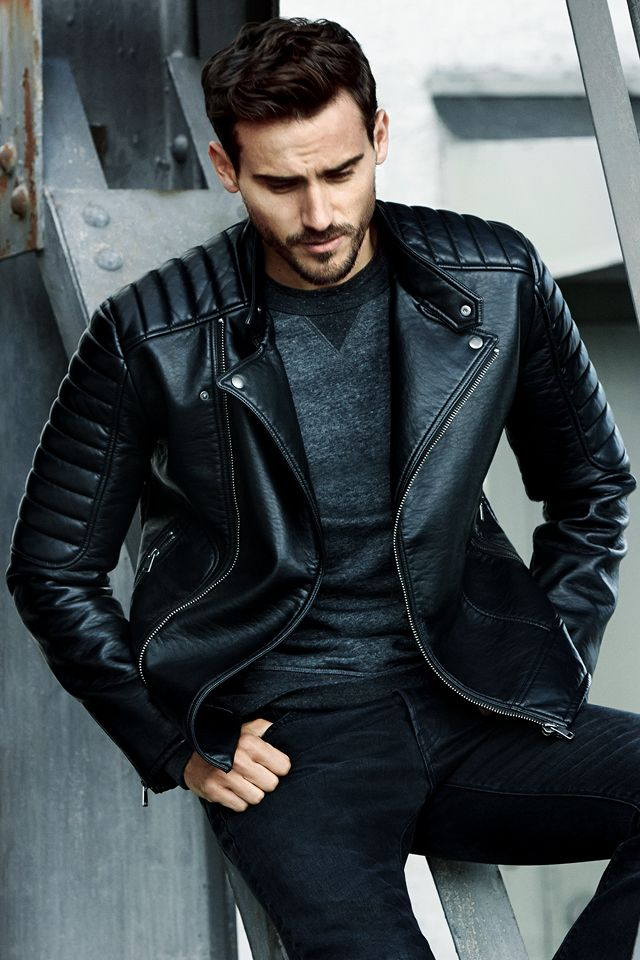 Men's Leather Jackets: Types and Fits
