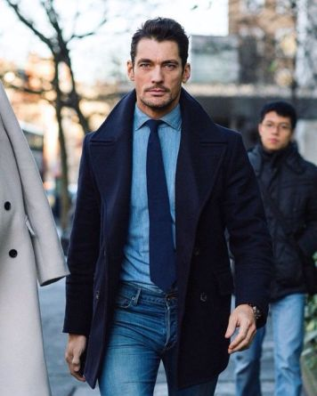 Jeans & Tie
